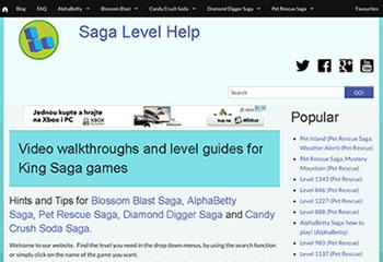 Saga Level Help